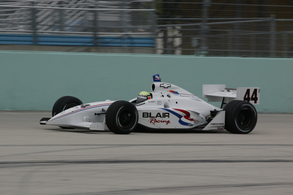 Alex Barron - Blair Racing - Dallara IR-02 - Chevrolet