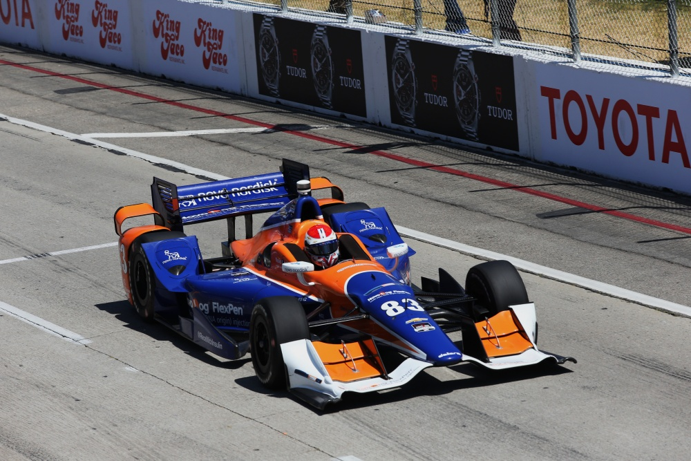 Charlie Kimball - Chip Ganassi Racing - Dallara DW12 - Chevrolet