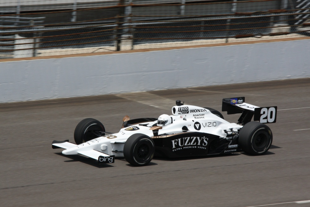 Patrick Carpentier - Dragon Racing - Dallara IR-05 - Honda