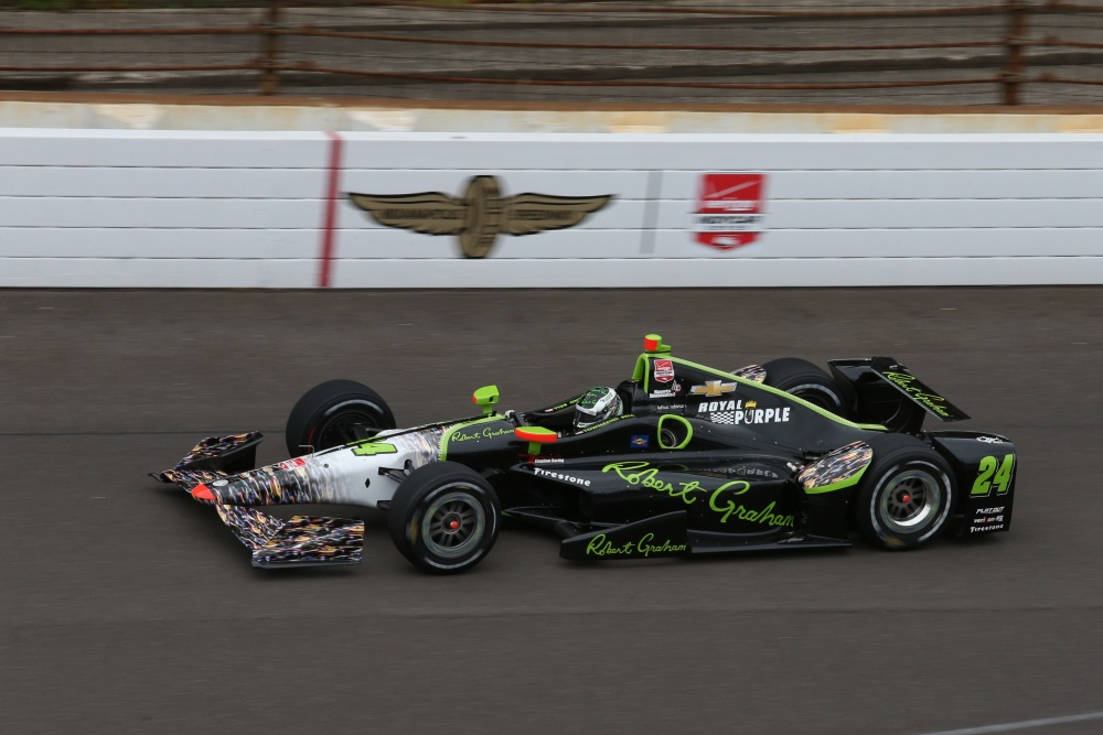 Townsend Bell - Dreyer & Reinbold Racing - Dallara DW12 - Chevrolet