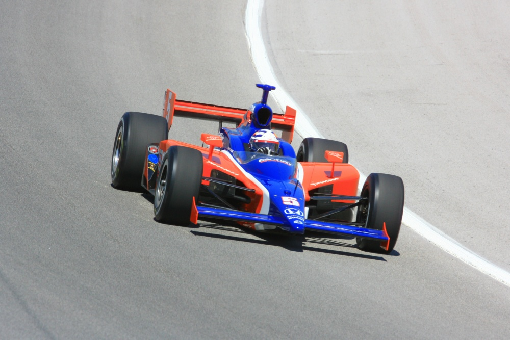 Buddy Lazier - Dreyer & Reinbold Racing - Dallara IR-05 - Honda