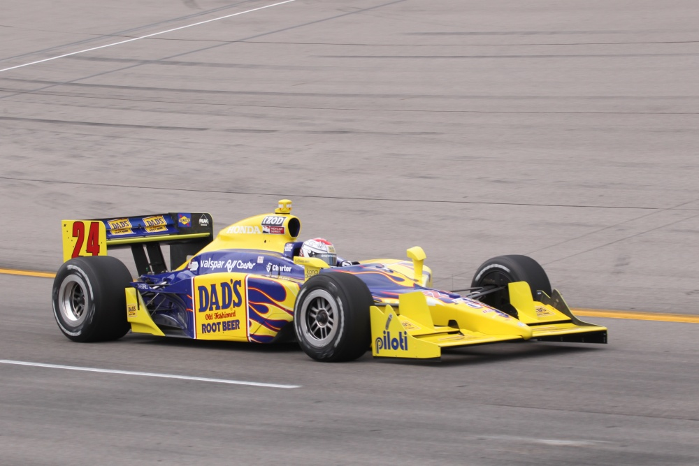 Graham Rahal - Dreyer & Reinbold Racing - Dallara IR-05 - Honda