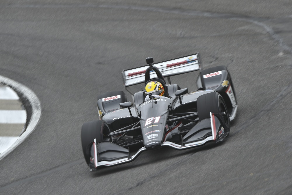 Spencer Pigot - Ed Carpenter Racing - Dallara DW12 - Chevrolet