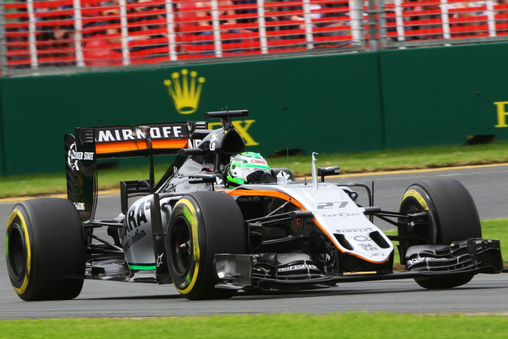 Nicolas Hülkenberg - Force India - Force India VJM09 - Mercedes