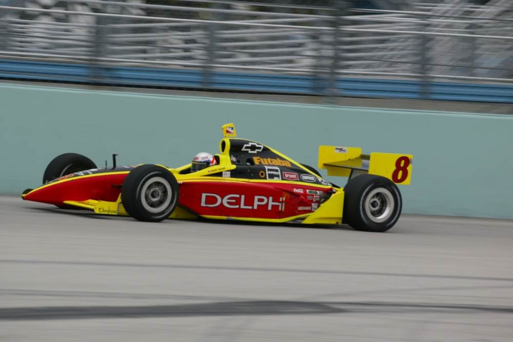 Scott Sharp - Kelley Racing - Dallara IR-02 - Chevrolet