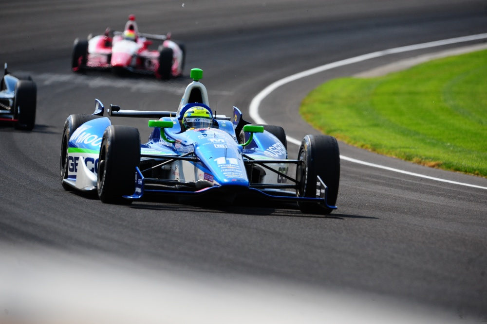 Tony Kanaan - KV Racing Technology - Dallara DW12 - Chevrolet