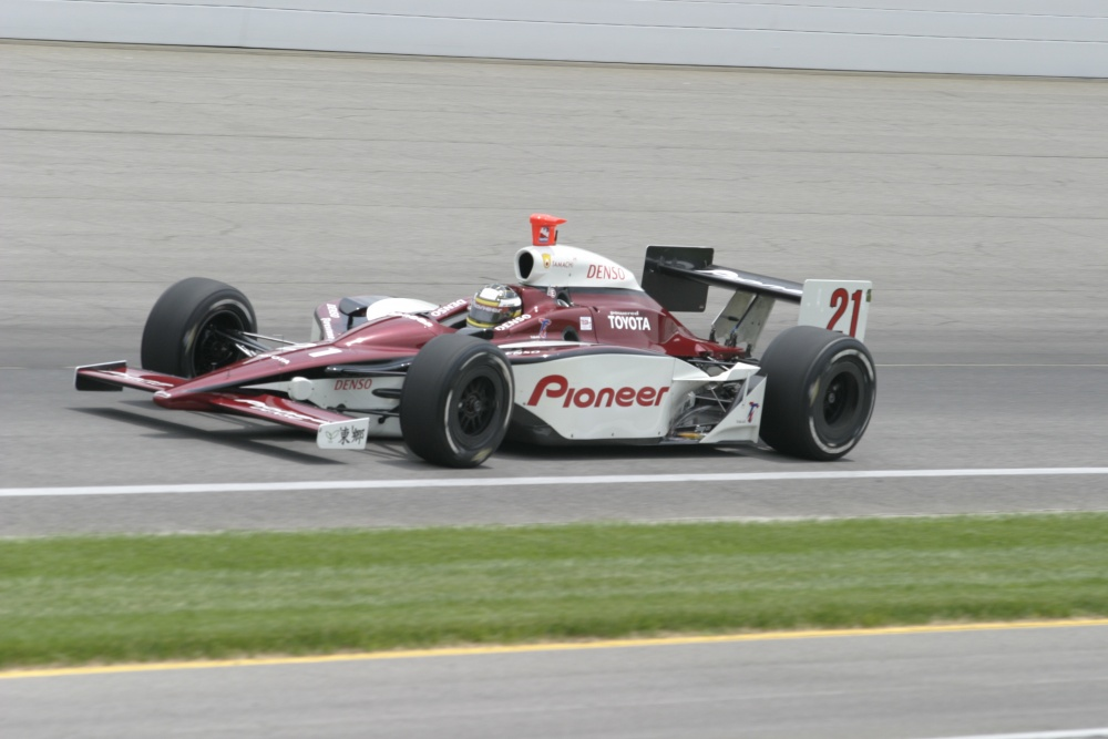 Jeff Simmons - Mo Nunn Racing - Dallara IR-03 - Toyota