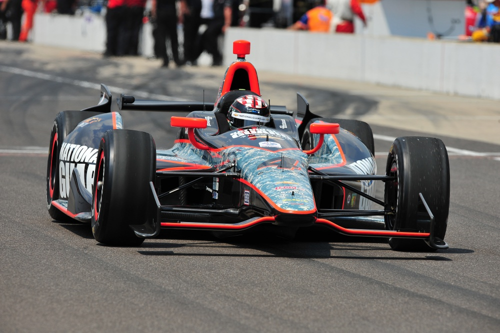 J.R. Hildebrand - Panther Racing - Dallara DW12 - Chevrolet