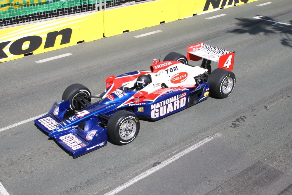 Dan Wheldon - Panther Racing - Dallara IR-05 - Honda