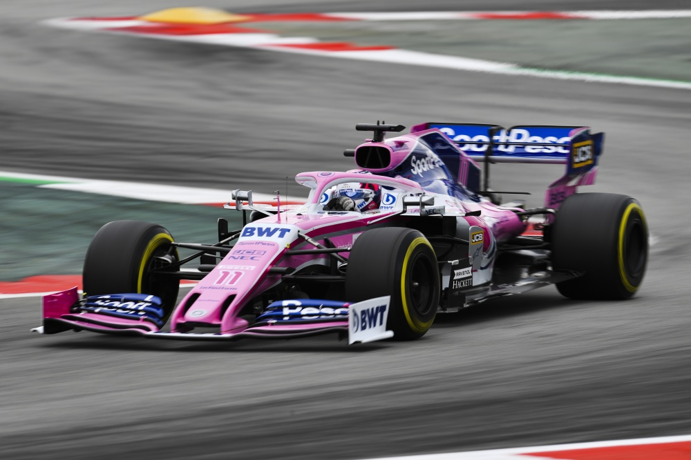 Sergio Perez Mendoza - Racing Point - Racing Point RP19 - Mercedes