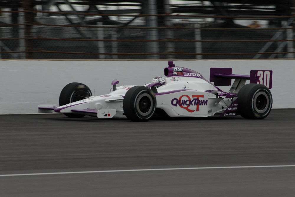 Graham Rahal - Rahal Letterman Racing - Dallara IR-05 - Honda