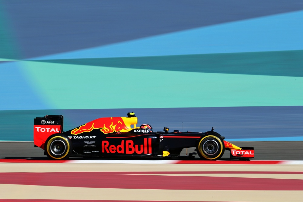 Daniil Kvyat - Red Bull Racing - Red Bull RB12 - TAG
