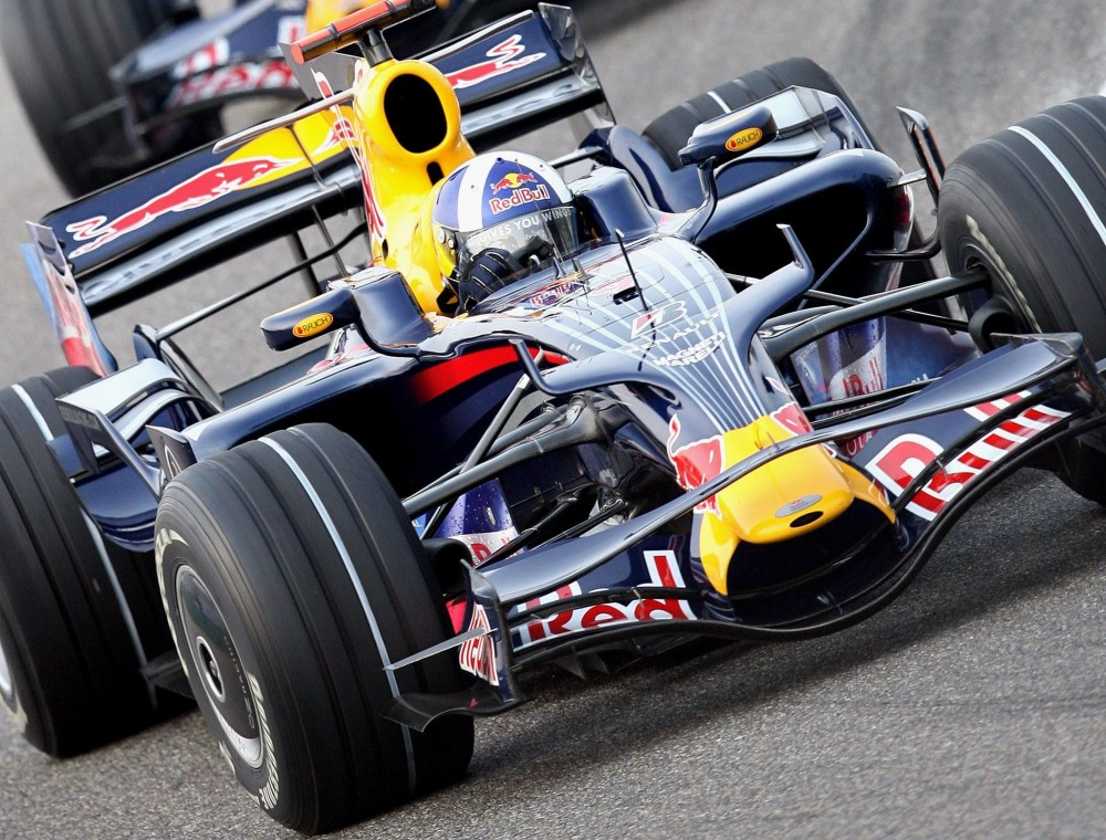 David Coulthard - Red Bull Racing - Red Bull RB4 - Renault