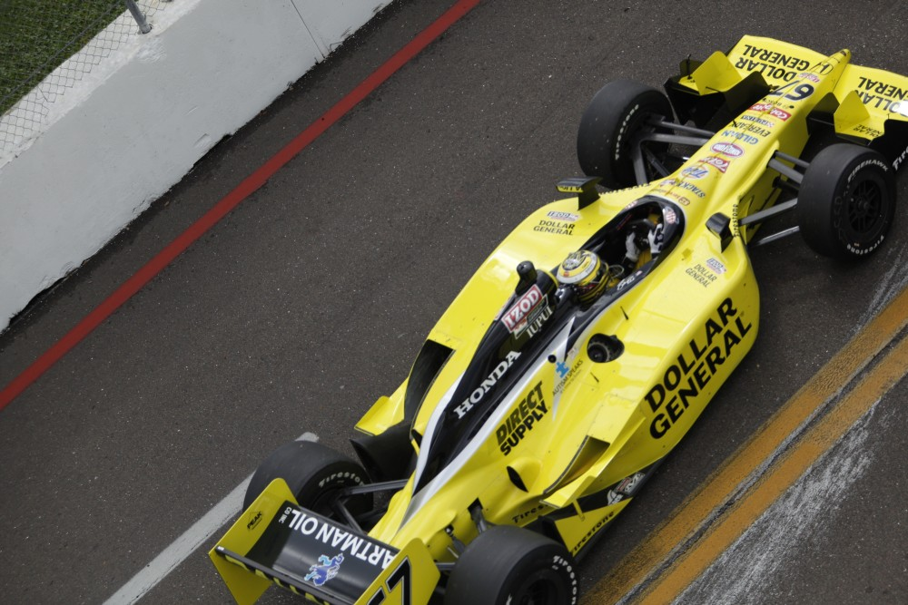 Graham Rahal - Sarah Fisher Racing - Dallara IR-05 - Honda