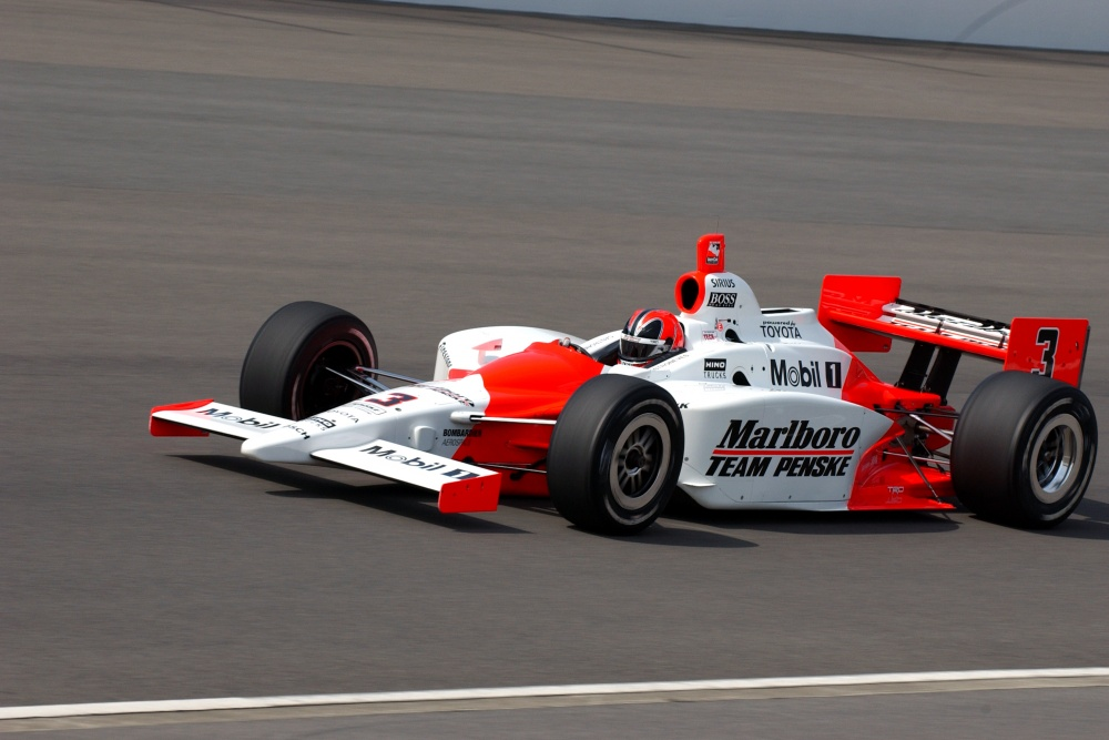 Helio Castroneves - Team Penske - Dallara IR-03 - Toyota