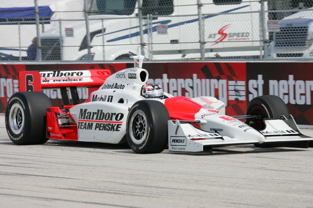 Sam Hornish - Team Penske - Dallara IR-05 - Toyota