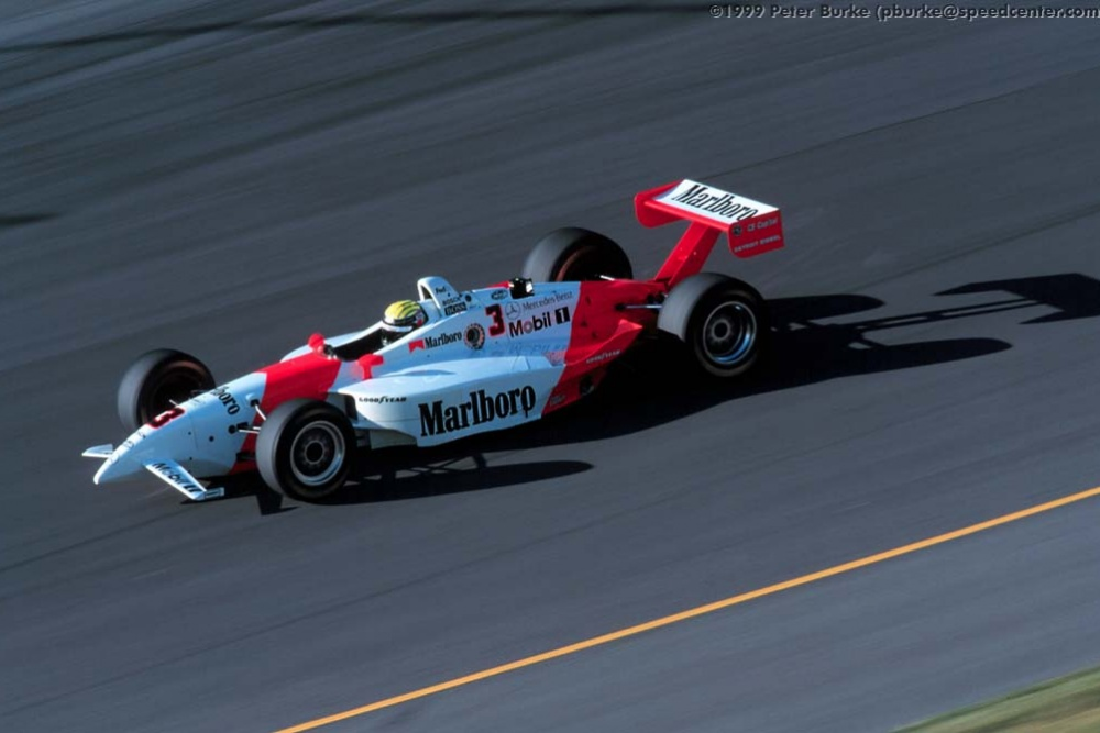 Alex Barron - Team Penske - Penske PC27B - Mercedes
