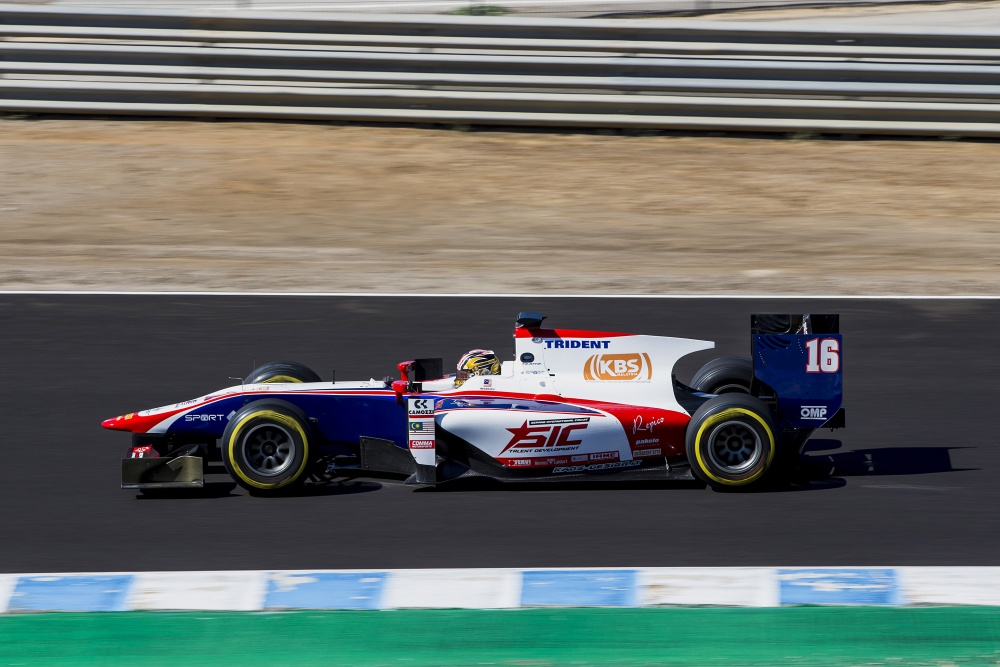 Nabil Jeffri - Trident Racing - Dallara GP2/11 - Mecachrome