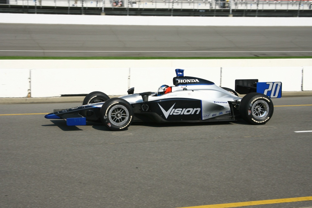 Ed Carpenter - Vision Racing - Dallara IR-05 - Honda